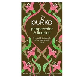 Peppermint & Licorice the, Pukka